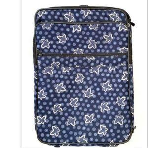 Vera Bradley Rolling Luggage Suitcase Travel Bag